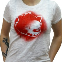 Ink Eater: Krylon Bombear Destroyed Tee
